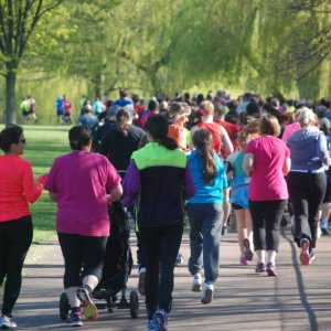 Inaugural Luton Park Run a roaring success.