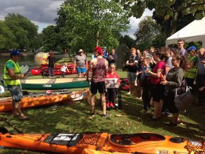 Charity Canoe Race Success!