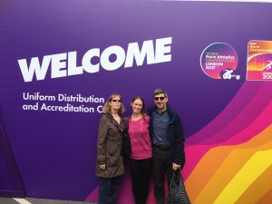 A Volunteers Journey to Becoming 'A Runner' at the IAAF World Athletics Championships
