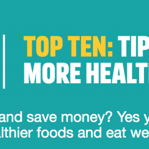ONE YOU Top tips to eat healthy for less