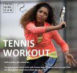 #Thisgirlcan tennis courses available from Riverside Tennis Club