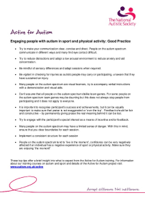 Autism Advice for Coaches