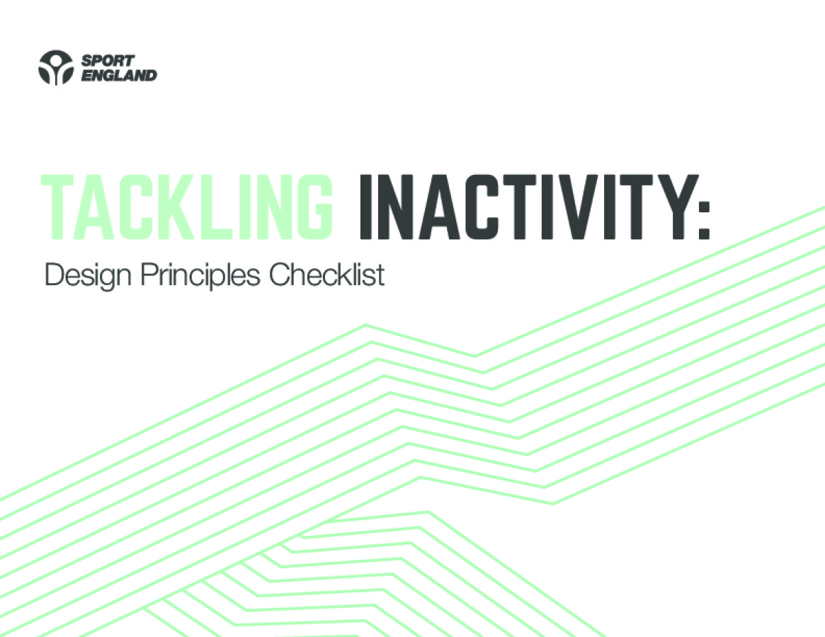 Tackling Inactivity Design Principles Checklist