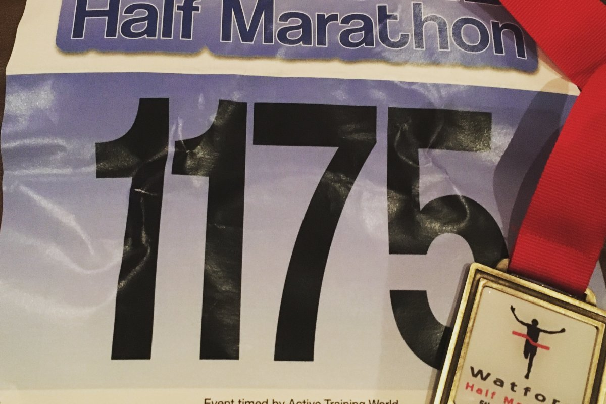 This Girl Can Run a Marathon Again or So She Thinks!