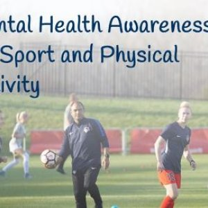 New Mental Health Awareness Training  for sport and physical activity