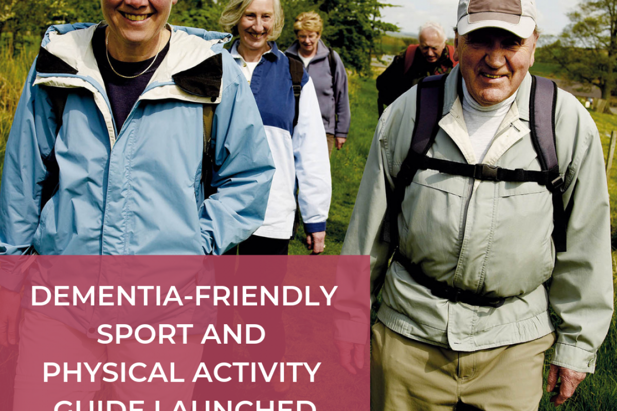 Dementia-friendly sport and physical activity guide launched