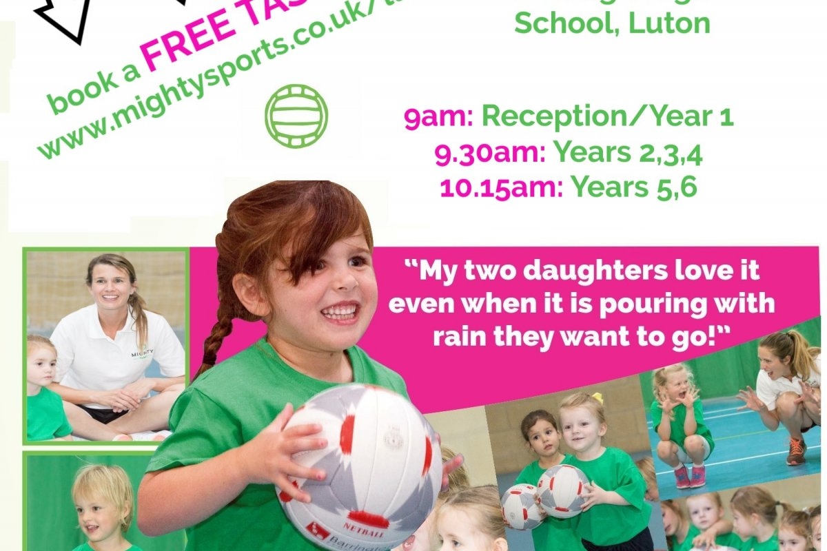 FREE Taster sessions available for Mighty Netball in Luton