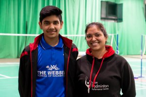 Luton Badminton star Nadeem Dalvi inspires others to go for Gold thanks to the Luton Sports Network.