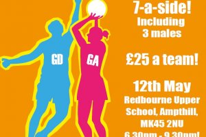 Mixed Netball Challenge for Workplaces in Bedfordshire