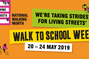 National Walk to School Week - Join us 20-24 May 2019