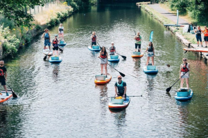 Plastic Patrol comes to Bedford! Try paddleboarding for FREE and do something good for the environment!
