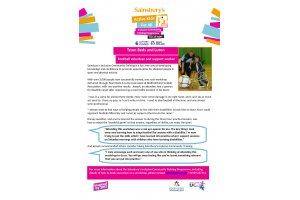 Sainsbury's Active Kids For All Inclusive Community Training