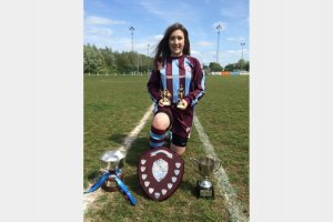 Support Local Footballer Carrie to study at the Elite Football Academy