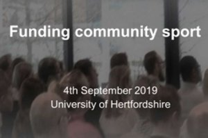 Funding Community Sport Conference
