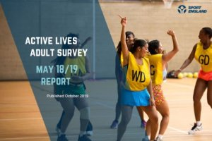 New Sport England Survey reveals one million more active in England