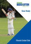 Flitwick Cricket Club Case Study