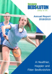 Team Beds&Luton Annual Report 2018 2019