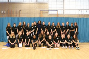 Olympic Champion welcomes children to the Bedfordshire & Luton School Games Maker Programme