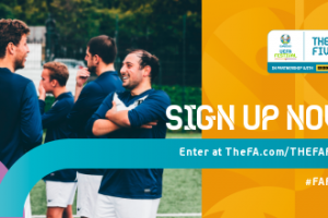 THE FA FIVES is a national five-a-side festival celebrating UEFA EURO 2020
