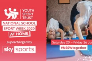 National School Sport Week at Home - Saturday 20 June  - Friday 26 June