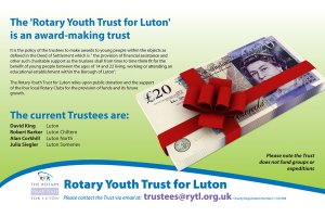 Financial rewards for young people in Luton