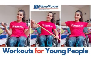 WheelPower release 10 NEW Inclusive Workouts for Young Disabled People during Lockdown