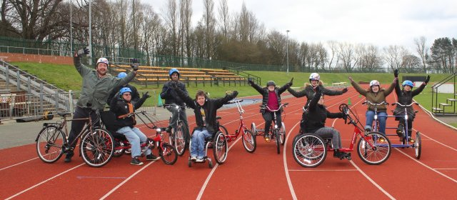 disabled bike hire programme luton
