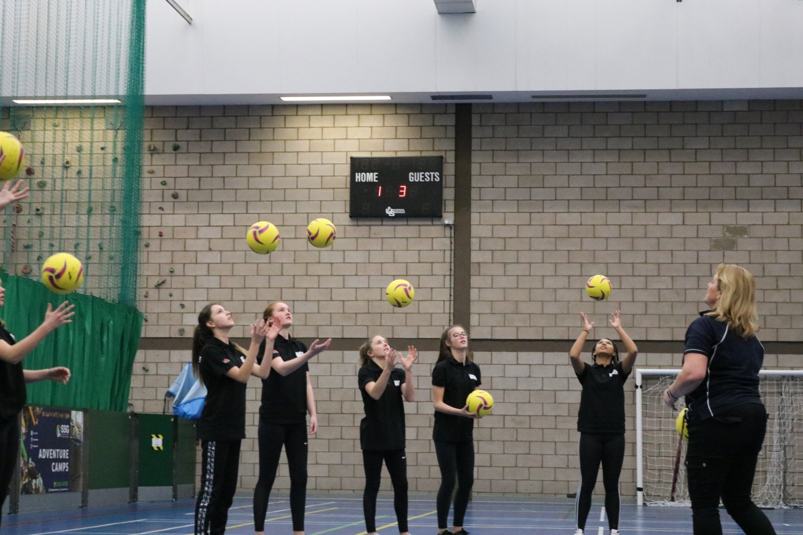 Image: Netball workshop